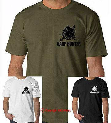 Carp Fishing tshirt bait banklife sizes matters angling catfish S-3XL
