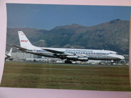collection vilain N° 632 THAI INTERNATIONAL   DC 8 32  HS-TGP