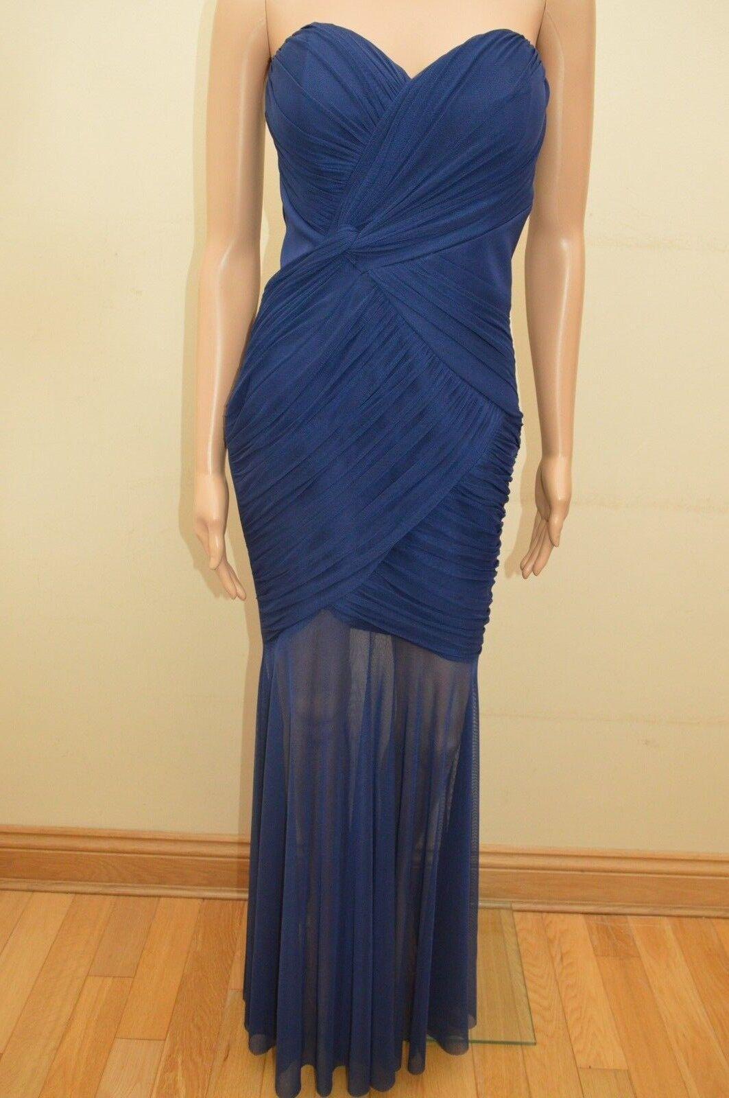 New Lipsy Navy Blau Ruched Maxi Dress Sz UK UK UK 12 | Shopping Online  | Moderater Preis  | Qualitätsprodukte  21d52a