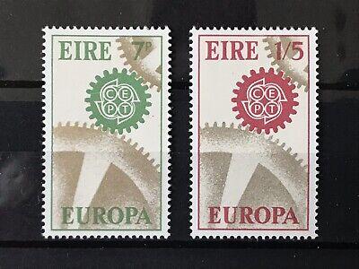 Briefmarken Europa Irland Minr 192/193 Europa Cept 1967 Postfrisch Direktverkaufspreis