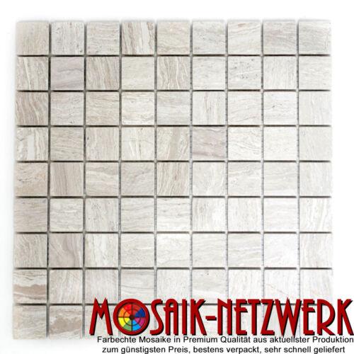 Art WB42-02041 Matte Marmor Mosaik grau Küche Wand Boden Dusche Spiegel