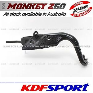 KDF-MUFFLER-EXHAUST-PIPE-PARTS-AFTERMARKET-FOR-HONDA-MONKEY-Z50R-Z50-MINI-50