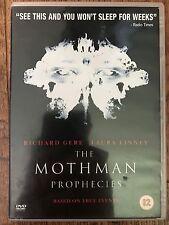 Richard Gere Laura Linney MOTHMAN PROPHECIES ~ 2002 Supernatural Thriller UK DVD