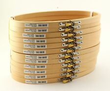 Lot 5 x 9 inch Large Oval Wooden Hand Embroidery Hoops Bulk 6 Pieces Darice