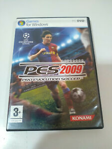 Pes 2009 Pro Evolution Soccer Messi Konami - Set PC Dvd-Rom Ausgabe Spanien 3T