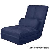 Cosmopolitan Click Clack Microfiber Convertible Flip Futon Chair Choose Color