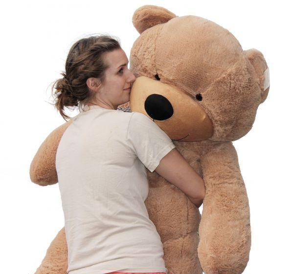 Joyfay® 63  160 cm Light Marronee Teddy Bear Giant Big Plush Toy Birthday Gift