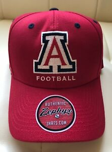 the best attitude 22802 7d276 Image is loading NEW-2018-Arizona-Wildcats-Football-Baseball-Cap-Hat-