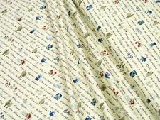 Lecien Fabrics • American Country • 31351-10 Schrift • Baumwoll Stoff • 0,5m