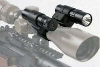 Tactical Bright Green Laser+150 Lumen Led Flashlight +mount Fits 1 Scope Tubes