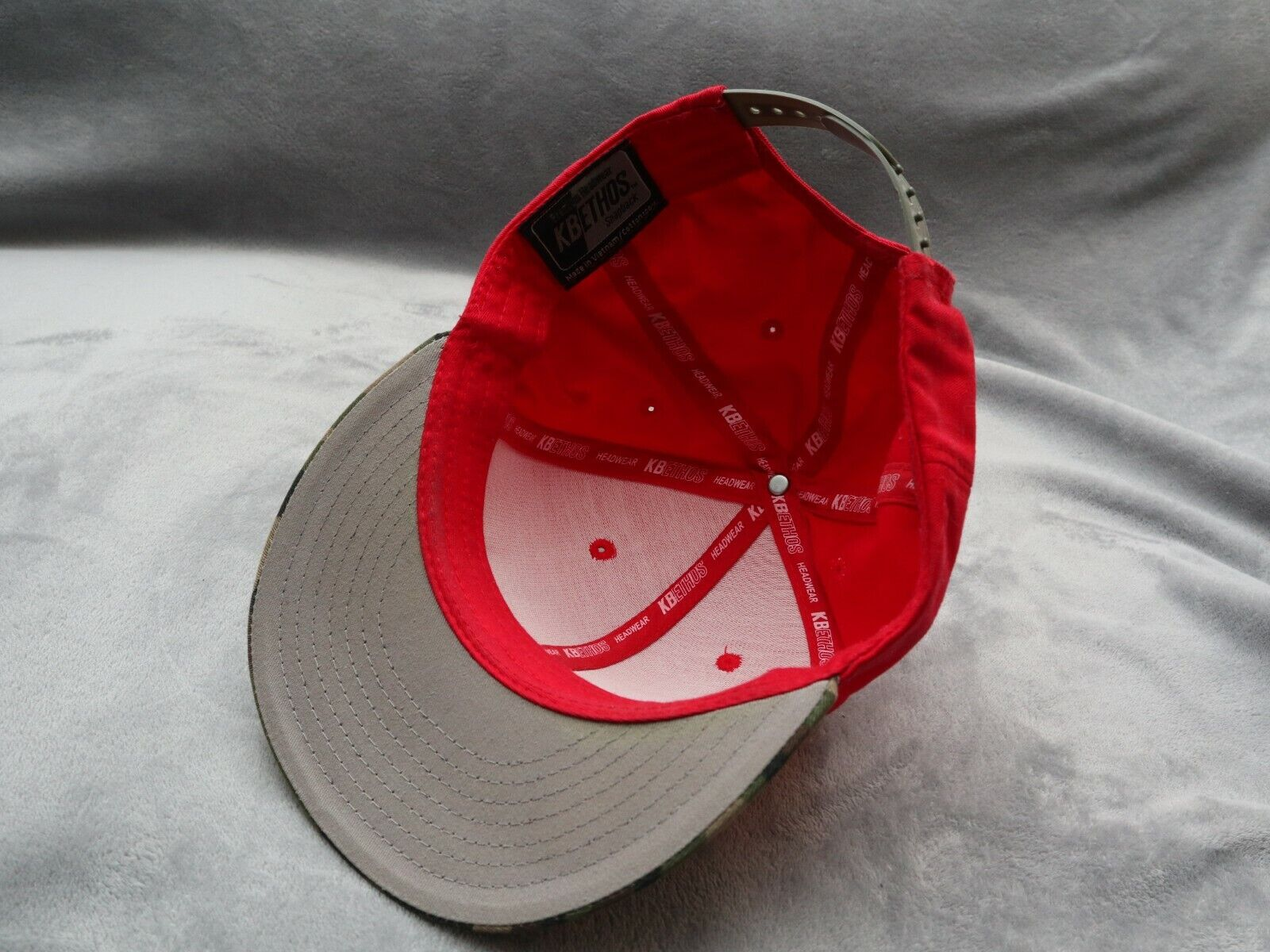 Holley Equipped red camo snapback - image 7