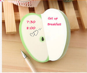 Creative-Fruit-Shaped-Notepad-Memo-Stationary-Notes-Pad-Scratchpad-Papers-Cool