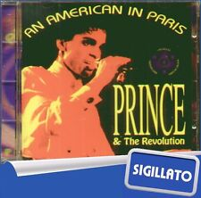 "PRINCE & THE REVOLUTION "" AN AMERICAN IN PARIS "" CD SIGILLATO WHY NOT 1993 ITALY"
