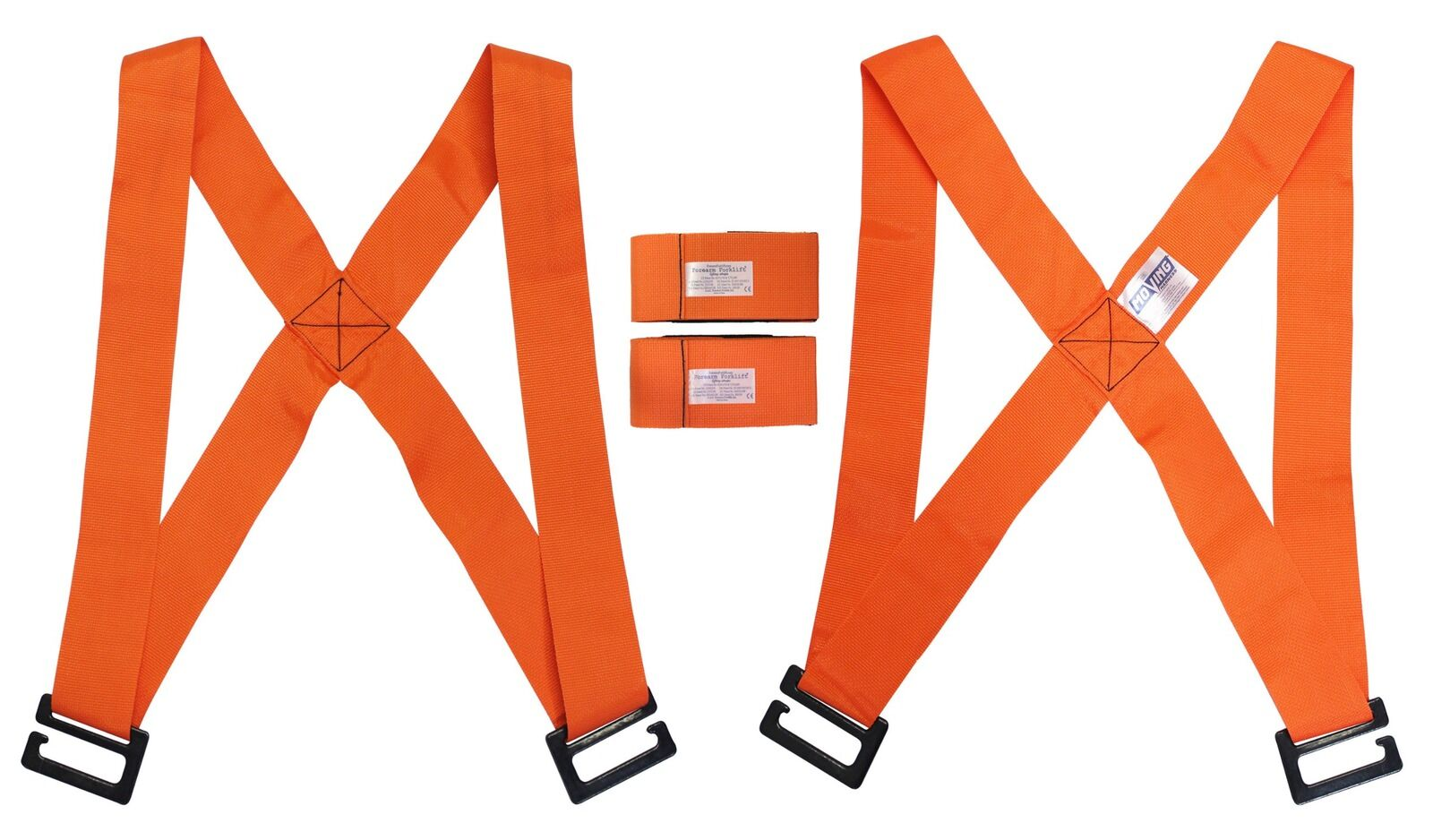 Forearm Forklift   MovXing Cradle - orange   2 Person Lifting and Moving System