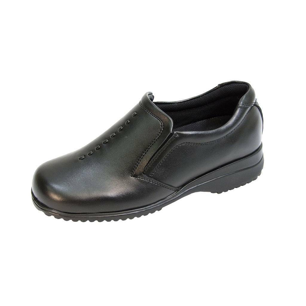 24 HOUR COMFORT Molly damen Leather Wide Width Durable Cushioned Leather damen Slip On schuhe 82571d