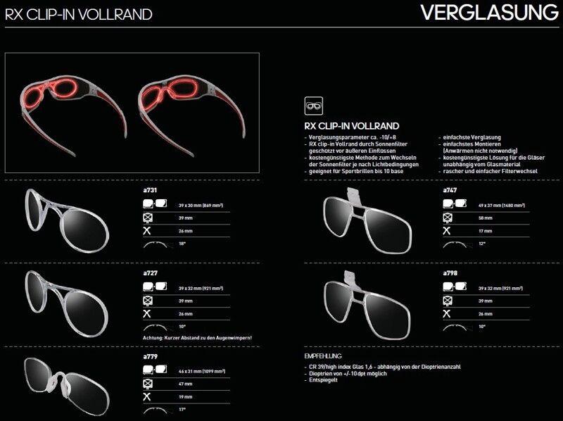 Adidas Brille Clip In Performence Insert alle Modelle  | | | München Online Shop  a01999