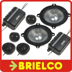 ALTAVOCES-AUTORRADIO-COCHE-110W-JUEGO-2-WOOFER-5-25-034-2-TWEETER-Y-FILTROS-BD6714