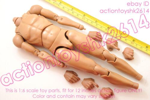 nude body 1//6 Scale POPTOYS W07 Armor Team Teppo General