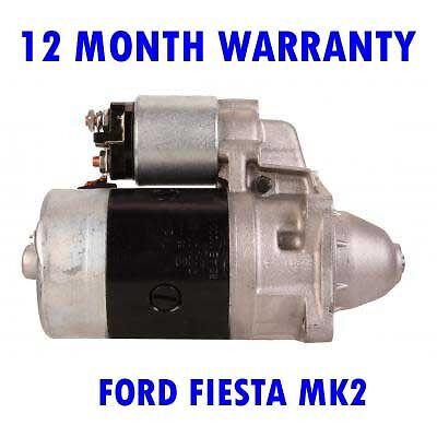 FORD FIESTA MK2 MK II 1.0 1.1 1.3 1.4 1.6 1981 1982-1989 STARTER MOTOR