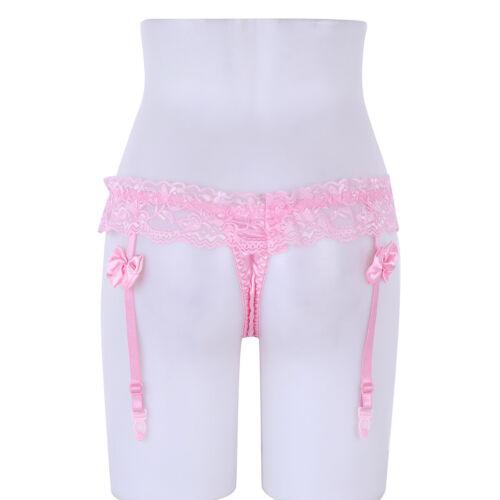 Women Lace Garters G-string Panties Briefs Underwear Lingerie Knickers Thongs