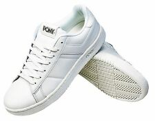 PONY TOPSTAR WHITE LEATHER CASUAL SNEAKERS MEN'S SHOES SIZE 13