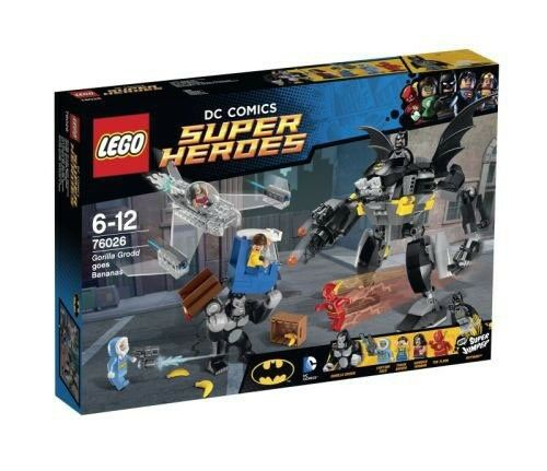 Lego Super Super Super Heroes 76026 Gorilla Grodds Wutanfall Neu OVP 48fd4a