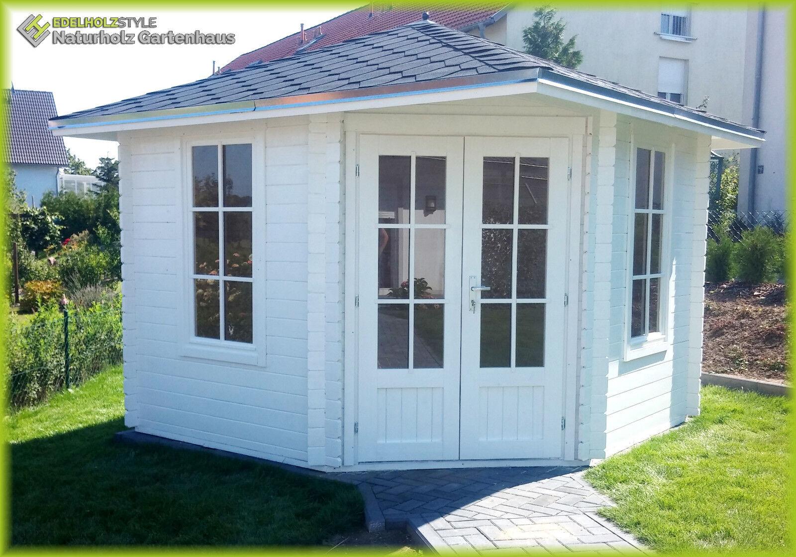 5 eck gartenhaus blockhaus 3x3m 5 eckige aus holz. Black Bedroom Furniture Sets. Home Design Ideas