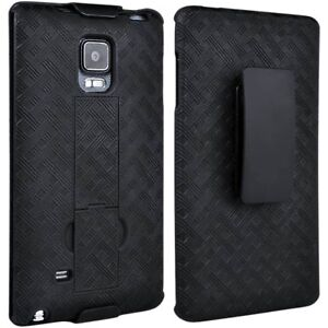 low priced 1da9c 33412 Details about 10X Samsung Galaxy Note 4 Edge Shell/Holster Combo Case with  Kickstand Black