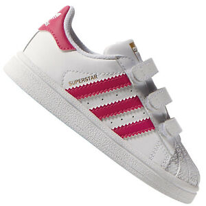 personal defensa Chaleco  Adidas Superstar Fille Bébé Enfants Chaussures de Sport 1. Baskets Blanc  Rose | eBay