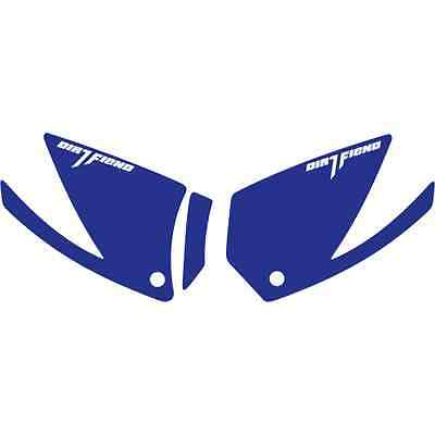 DFR GRIP IT KIT BLUE FRAME RAPTOR700  RAPTOR 700 YAMAHA GRAPHICS DECAL GUARDS