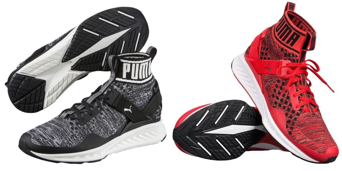 Puma Ignite evoKNIT Herren Lifestyle Running Running Running Sneaker Zapatos SockenZapatos 39-46 e02257