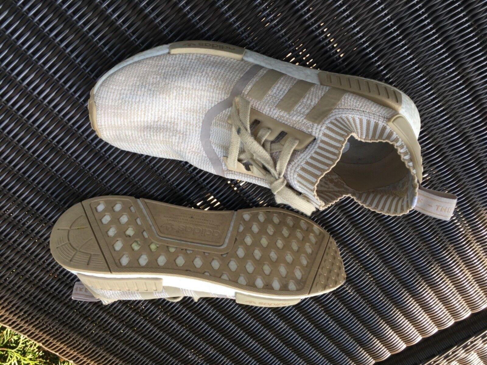 Adidas NMD Herren-/Damensneaker Boost Khaki Primeknit 12 - 461/3