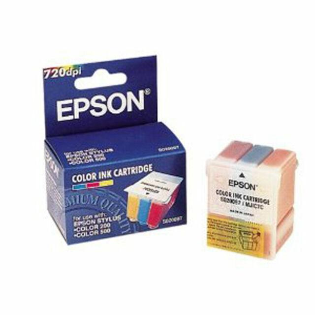 Epson S020097 Color Genuine ink Cartridge For MJ 810 C MJ-510 C Stylus Color 500