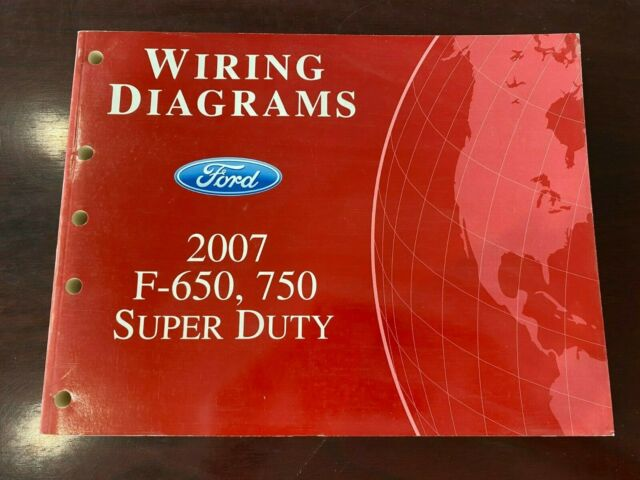 2007 Ford F650  750 Super Duty Wiring Diagrams