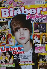 JUSTIN BIEBER - Picture Star Magazin 02/2010 + XXL Poster - Clippings Sammlung