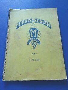 1948 Mt Morris, Michigan Schools Yearbook, Morris Sonian, Alumni Listed