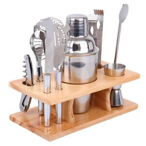 8Pcs-Stainless-Steel-Cocktail-Shaker-Mixer-Drink-Bartender-Martini-Bar-Tool-Set