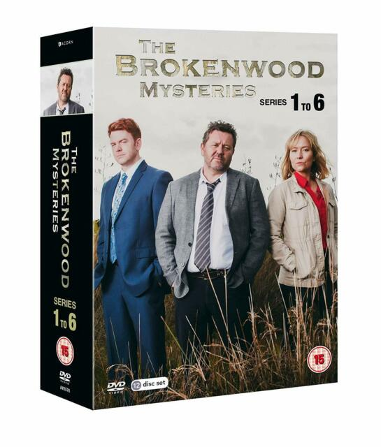 The BROKENWOOD MYSTERIES - Complete Season 1-6 DVD Region 4 (AUS) New & Sealed.