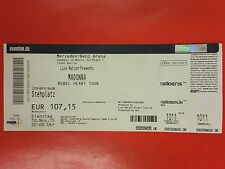 MADONNA - Ticket 10.11.2015 REBEL HEART TOUR - BERLIN GERMANY