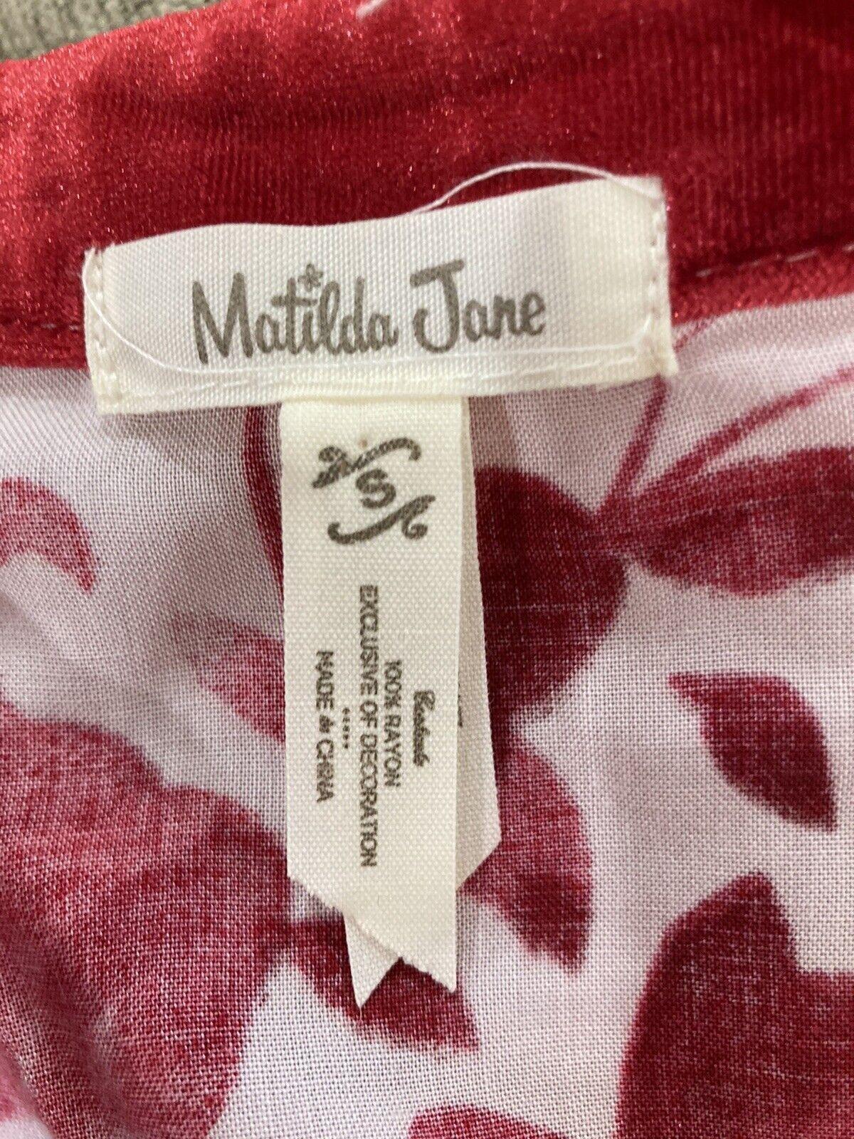 Matilda Jane Women's Small Miri Pintuck Ruffle To… - image 8