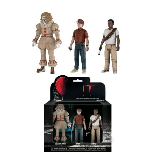 FUNKO - Action Figure 3-pack Stan /& Mike Pennywise It 2017