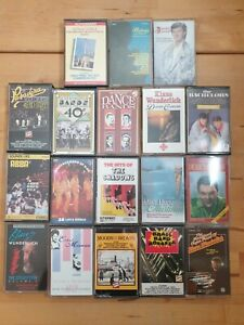 audio music cassette tapes bundle joblot x 18 as pictured mct03