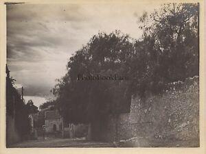 Taormina-Sicilia-Italia-Foto-Amateur-Vintage-Analogica-Verso-1910