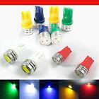 T10 1W 168 194 SMD W5W LED Car Tail Wedge Light Lamp Bulb 12V White 12V 5 Color