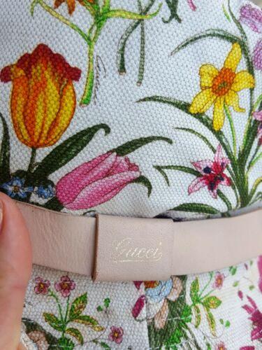 Gucci Flora Bucket Hat Size M