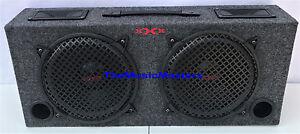 "Empty 10"" inch 2-Way Truck SUV Hatchback BASS BOX Car Audio Sub Woofer Speaker"