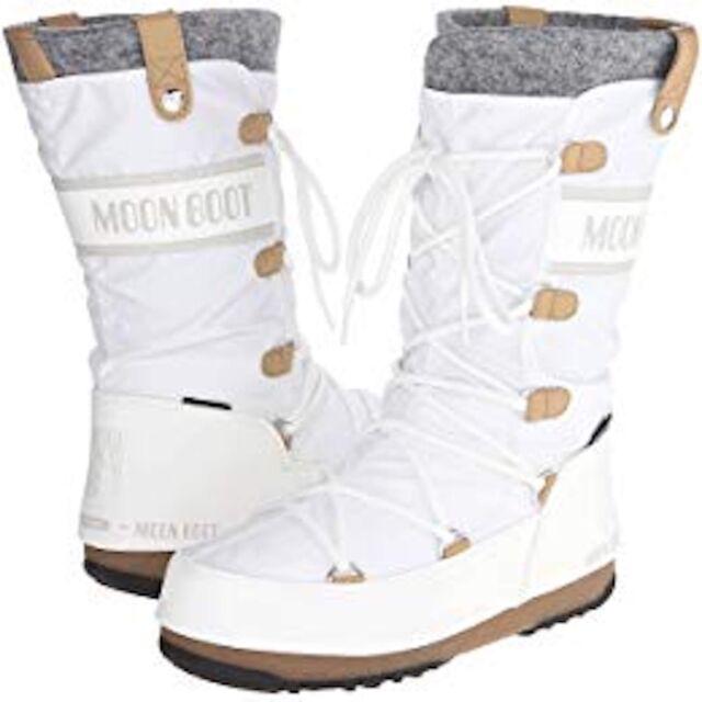 the best attitude e49a7 6a40c New in Box! Tecnica Winter Moon Boot Monaco Felt White, Women's US Size  8.5(40)