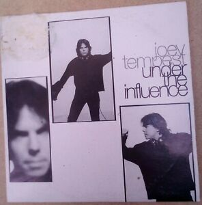 Joey Tempest ‎Under The Influence CD single promo