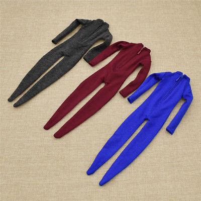 1//6 Scale Jumpsuit Corset Clothes Jump Bodysuit or 12inch Male Action Figure