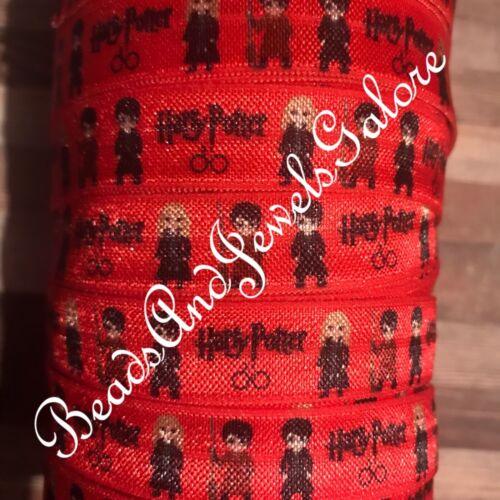 Harry Potter foe inspire Harry Potter elastic Potter hairtie Harry Potter ribbon